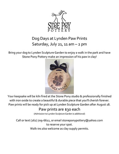 Lynden Paw Print Day Flyer JULY 8 18