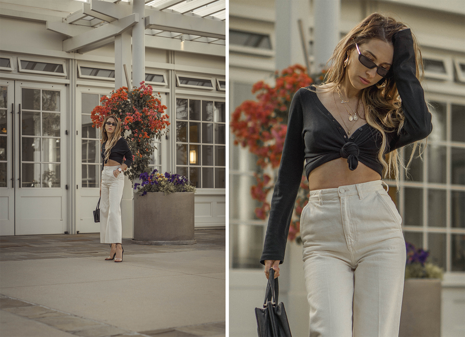 high_waisted_wide_white_jeans_clear_shoes_heels_street_style_outfit_fashion_blogger_vintage_lena_juice_the_white_ocean_10