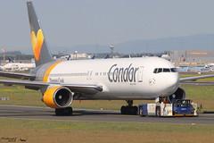 Boeing 767-38E(ER) CONDOR D-ABUS 30840 Francfort mai 2018