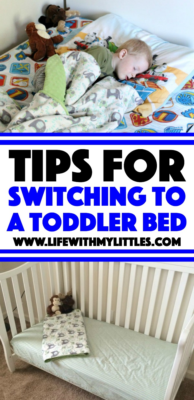 Tips for switching to a toddler bed. Follow these 9 steps and transitioning your toddler to a toddler bed will be a breeze!