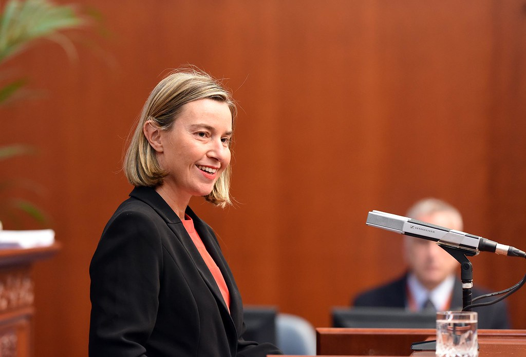 Federica Mogherini, Vice-President of the EC, visi…