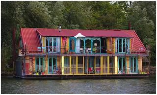 Villa colorful