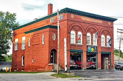 maine somersetcounty skowhegan us2 us201 firestation firehouse nationalregister nationalregisterofhistoricplaces