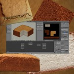 Real Life Cheese Cake Blender 3D