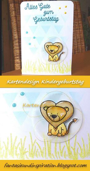 Foto zum Pinnen - Löwenkarte