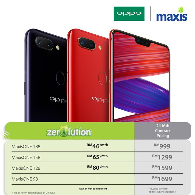 Maxis revised plan packages
