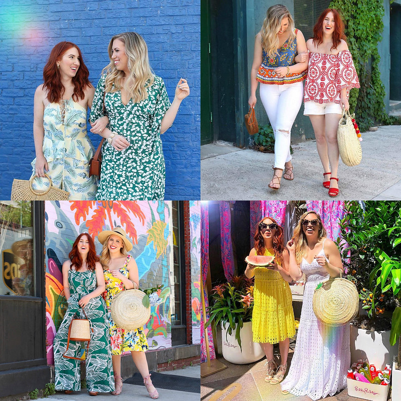 June 2018 Round Up Fashion Outfit Summer Inspiration Ideas Colorful Jackie GIardina Living After Midnite Blog