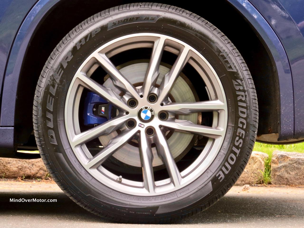 BMW X3 XDrive M40i Cargo Area