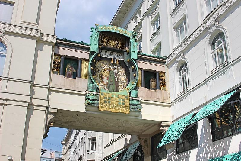 Vienna hoher markt clock
