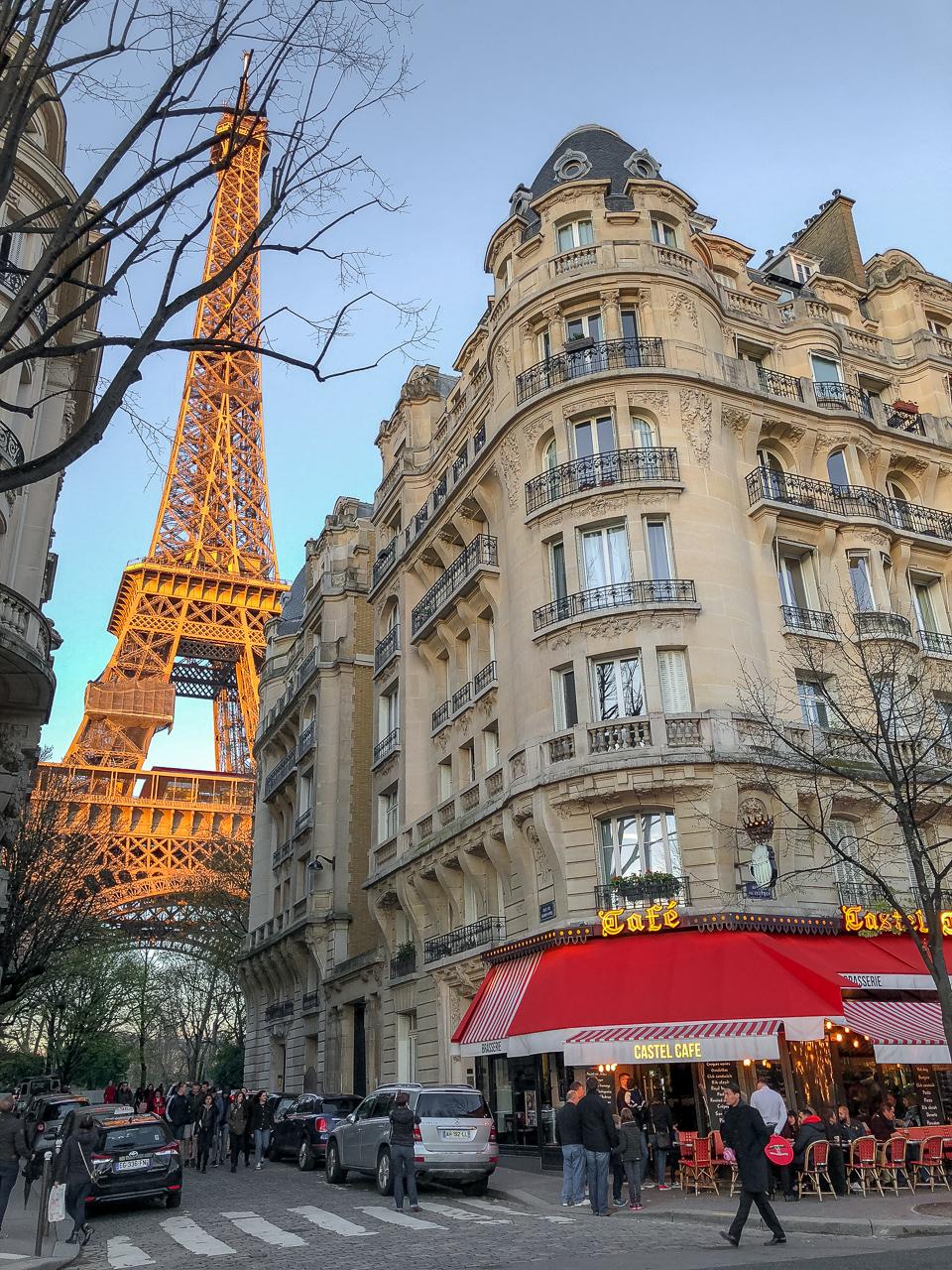 Parhaat paikat Eiffel-tornin kuvaamiseen
