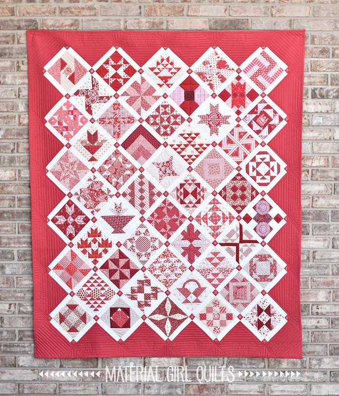 Farmer's Wife Quilt by Amanda Castor of Material Girl Quilts