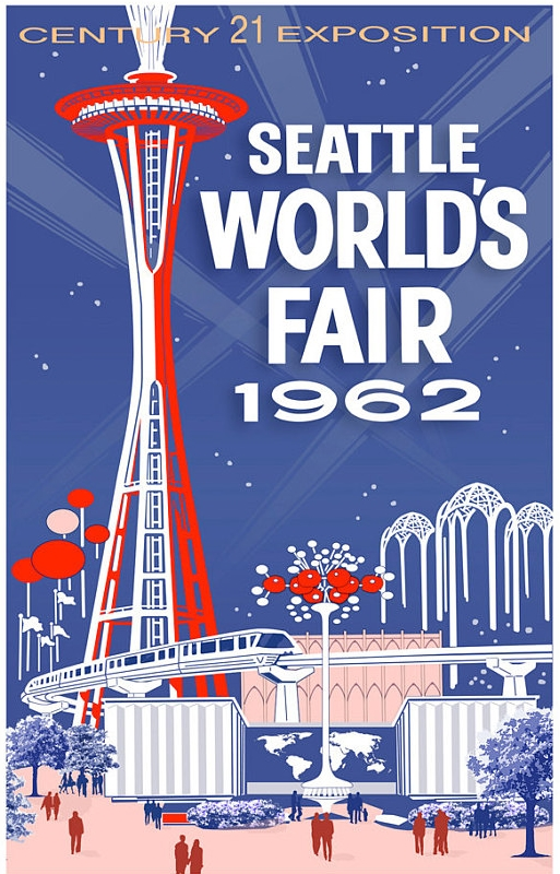 Poster for the 1962 Seattle World's Fair