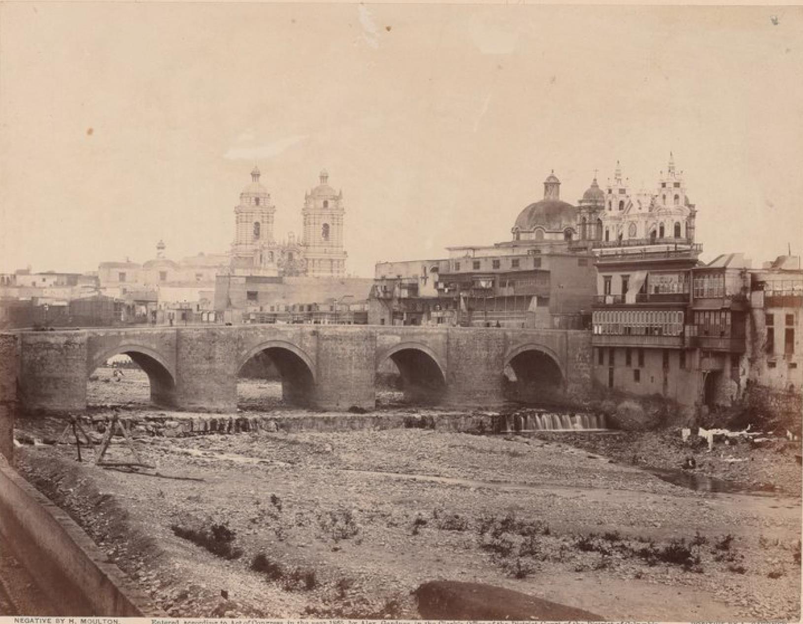 Лима. Мост Писарро