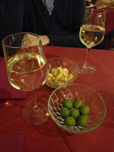 wine crackers and castelvetrano olives (my favorite!)
