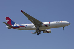 9N-ALZ Airbus A330-243 Nepal Airlines @ Toulouse TLS