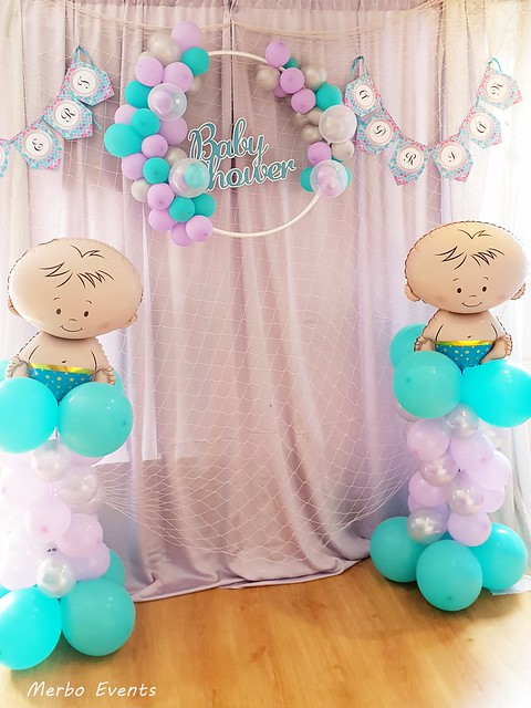 photocall baby shower MErbo Events