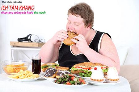 Thừa cân, béo phì, ít vận động là những yếu tố nguy cơ cao gây thiếu máu cơ tim