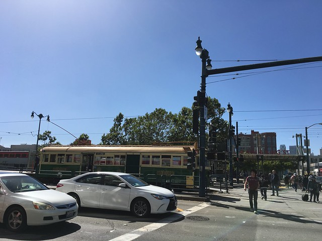 Ex Melbourne streetcar at, Apple iPhone 6s, iPhone 6s back camera 4.15mm f/2.2