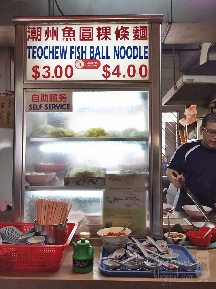 food review,food,review,singapore,teochew mee pok, teochew fish ball noodle,潮州魚圓粿條麵,魚圓麵,crawford lane