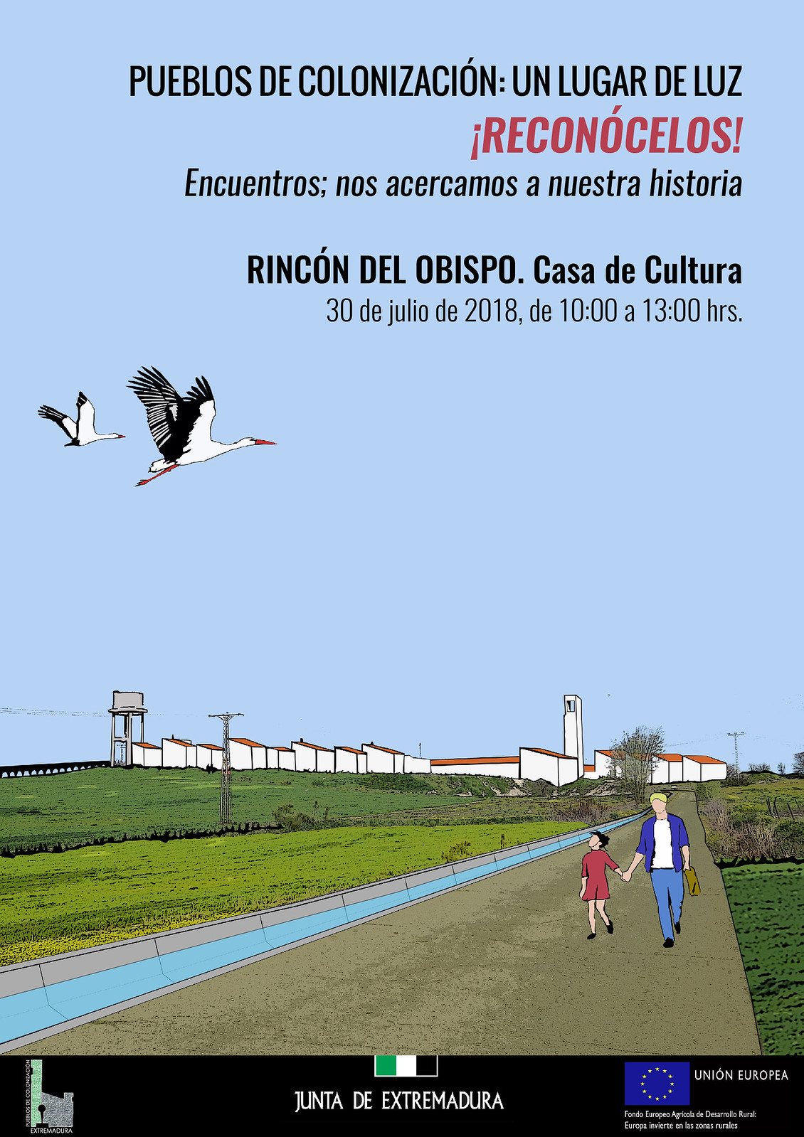"""Rincón del Obispo acogerá el día 30 de julio el taller-encuentro """"Pueblos de Colonización"""""""