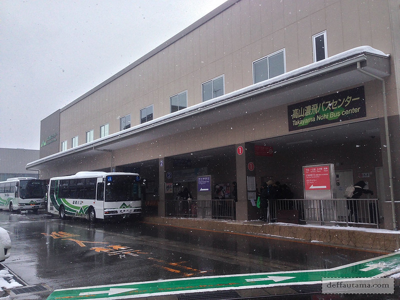 Babymoon ke Jepang - Takayama Nohi Bus Center