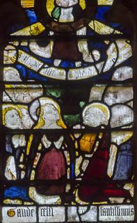 Great Malvern Priory Window n6 detail