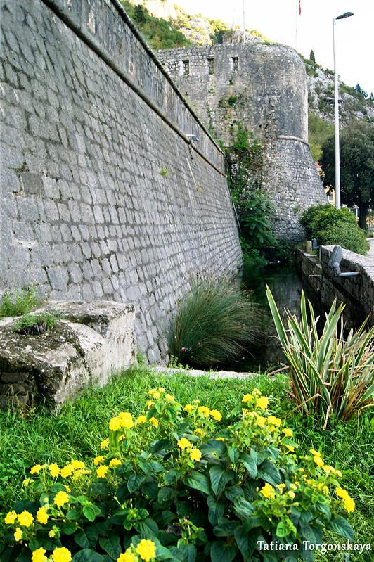 Городская крепостная стена с бастионом Гурдич
