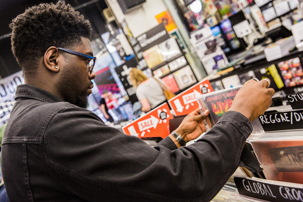 Record Shopping with... Jake Isaac
