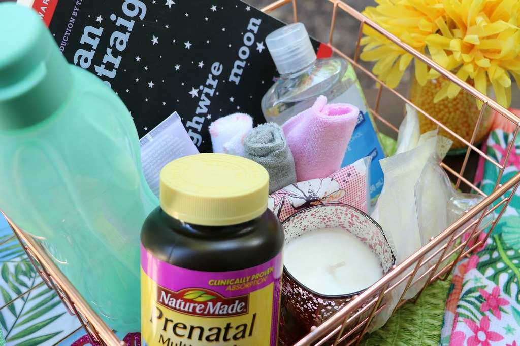 The Ideal Breastfeeding Survival Basket for New Mothers #NatureMadePrenatalDHA