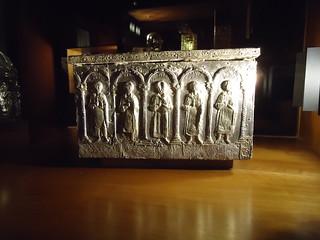 La teca contenente la reliquia di Sant'Oronzo