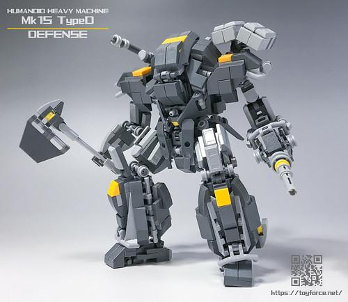 LEGO Robot Mk15-TypeD-01S