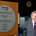 Unveiling the new plaque for the re-opening of Preston Bus Station - 20