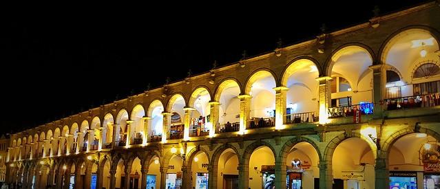 Arequipa by night
