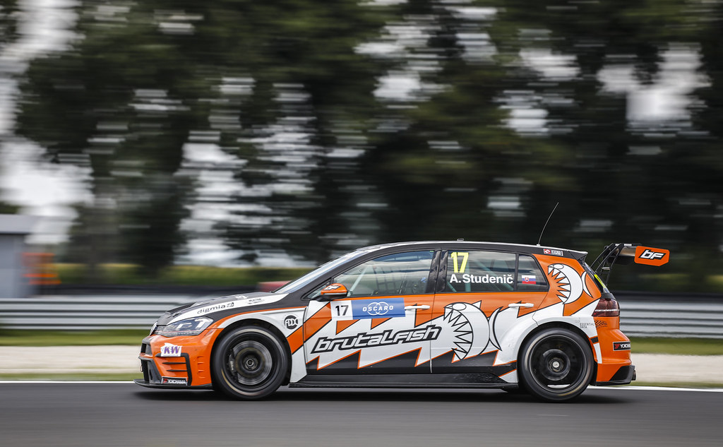 17 STUDENIC Andrej (SVK), Volkswagen Golf GTI TCR, Brutal Fish Racing Team, action during the 2018 FIA WTCR World Touring Car cup race of Slovakia at Slovakia Ring, from july 13 to 15 - Photo François Flamand / DPPI.