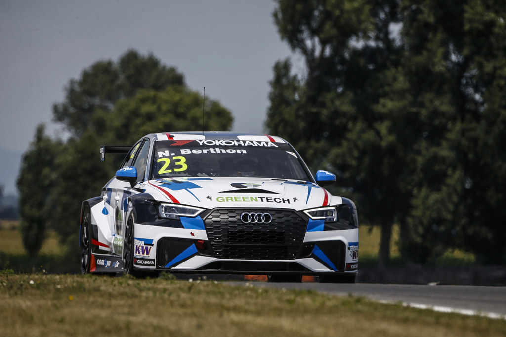23 BERTHON Nathanael, (fra), Audi RS3 LMS TCR team Comtoyou Racing, action during the 2018 FIA WTCR World Touring Car cup race of Slovakia at Slovakia Ring, from july 13 to 15 - Photo François Flamand / DPPI.