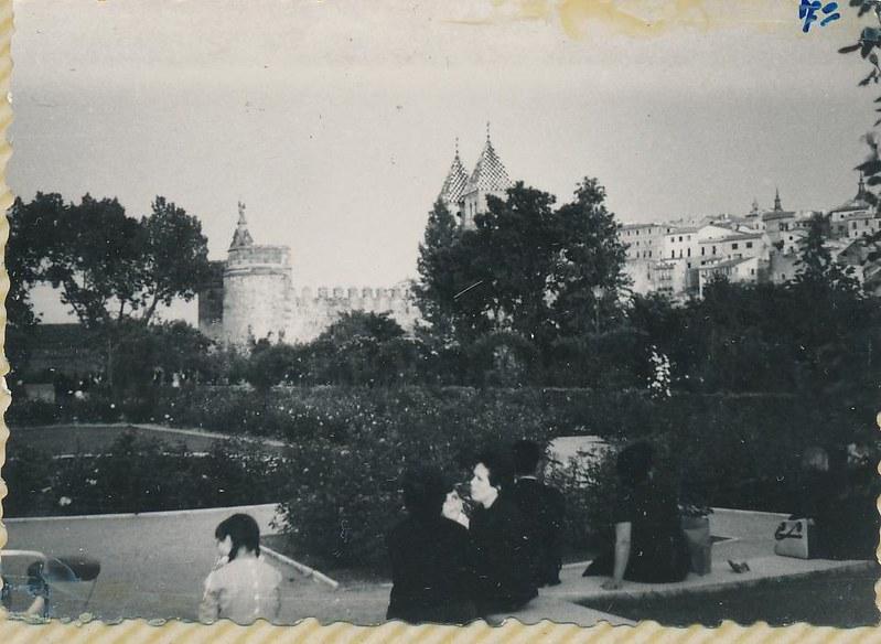 Paseo de Merchán en 1962. Fotografía de Julián C.T.