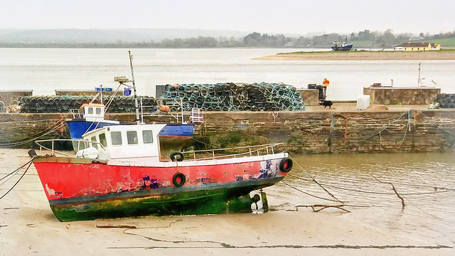 Youghal Harbour Boat