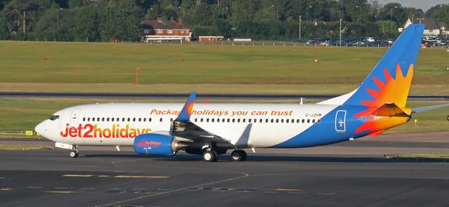 G-JZHM Jet2 Boeing 737-800