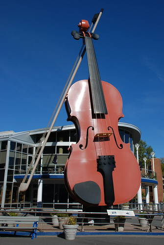 Sydney fiddle. From  History Comes Alive in Sydney, Nova Scotia