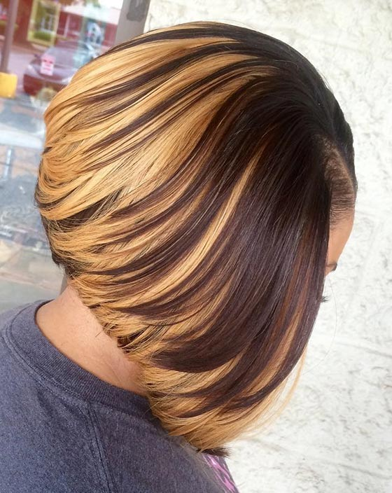 Glamorous Bob Haircuts For Black Female -Take Ideas for New Styles 11