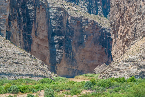 Santa Elena Canyon From a Distance