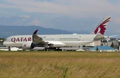 Airbus A350-941. A7-ALR. QR100.