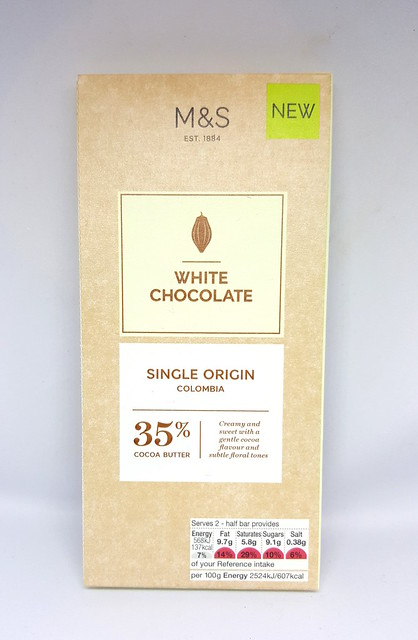 M&S 35% Single Origin Colombia Chocolate