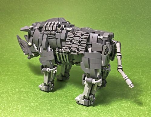 LEGO Mecha Rhinoceros-05