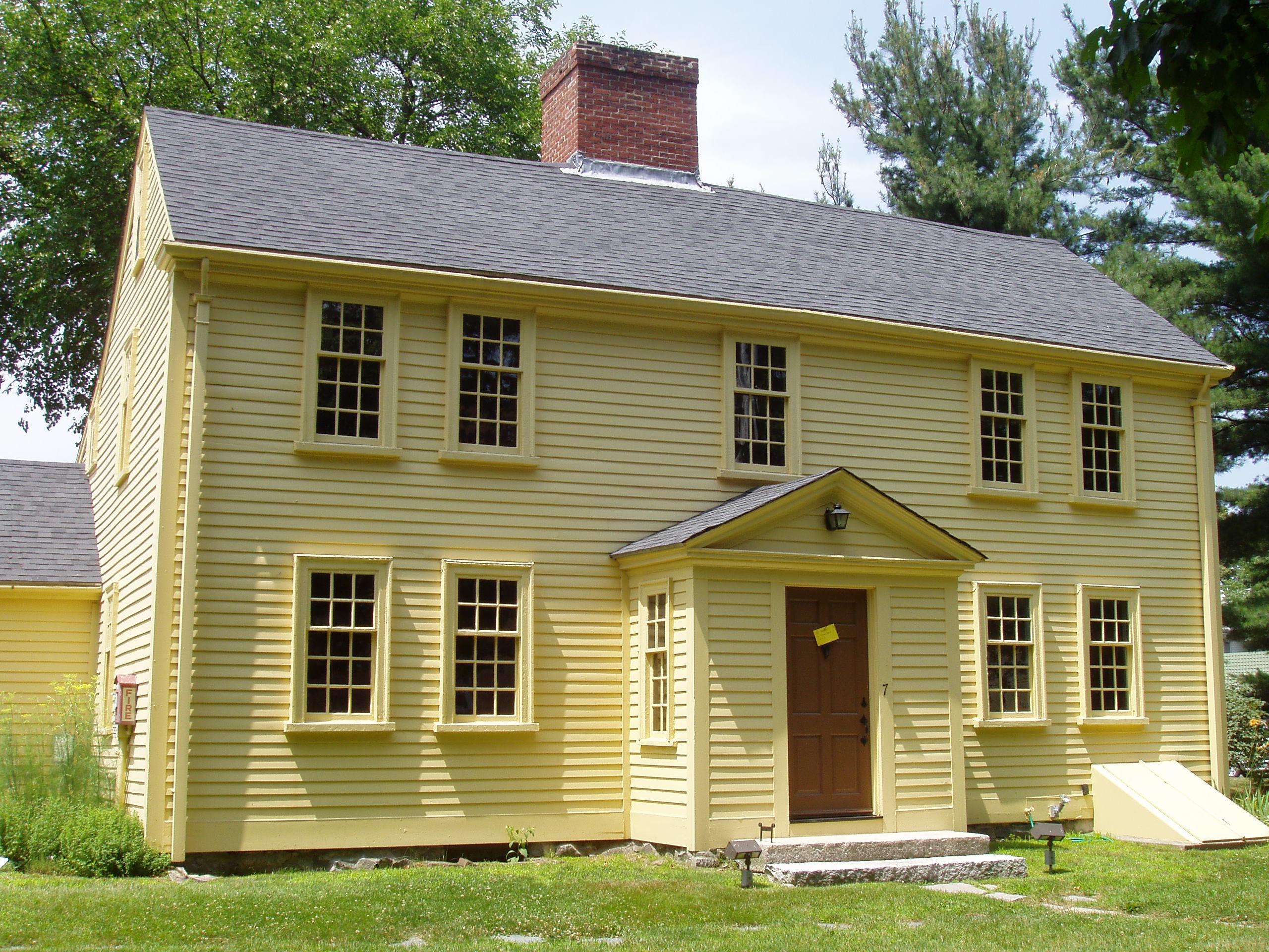 The Jason Russell House in Arlington, Massachusetts. Photo taken on July 17, 2005.