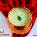 Ragi masala chaas