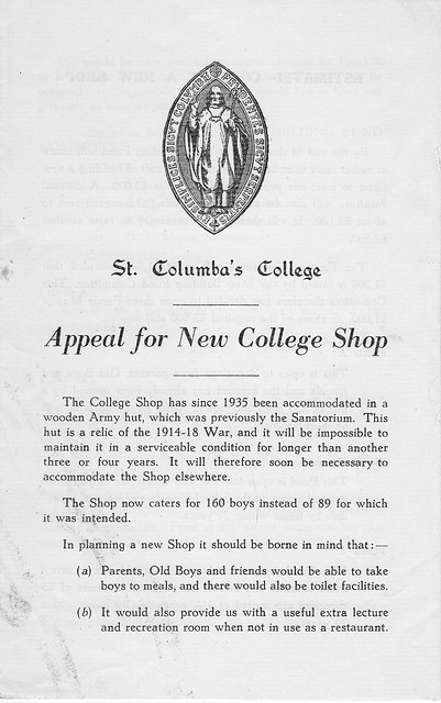 Appeal for New Shop, 1951