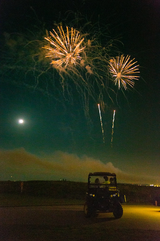 Strawberry Moon and Fireworks 3