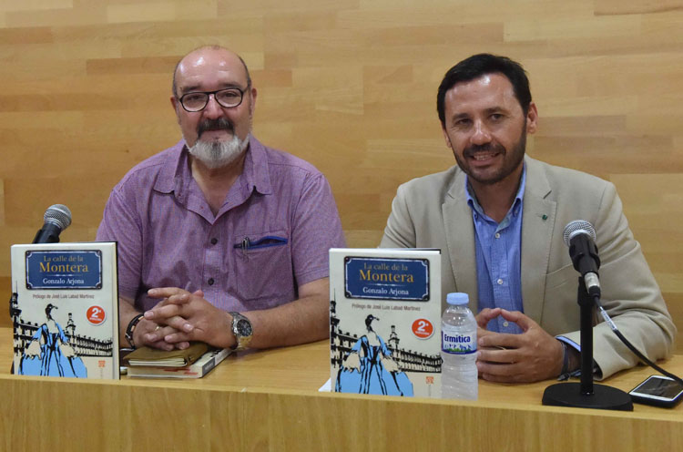 PRESENTACIÓN DEL LIBRO DE GONZALO ARJONA LA CALLE DE LA MONTERA1