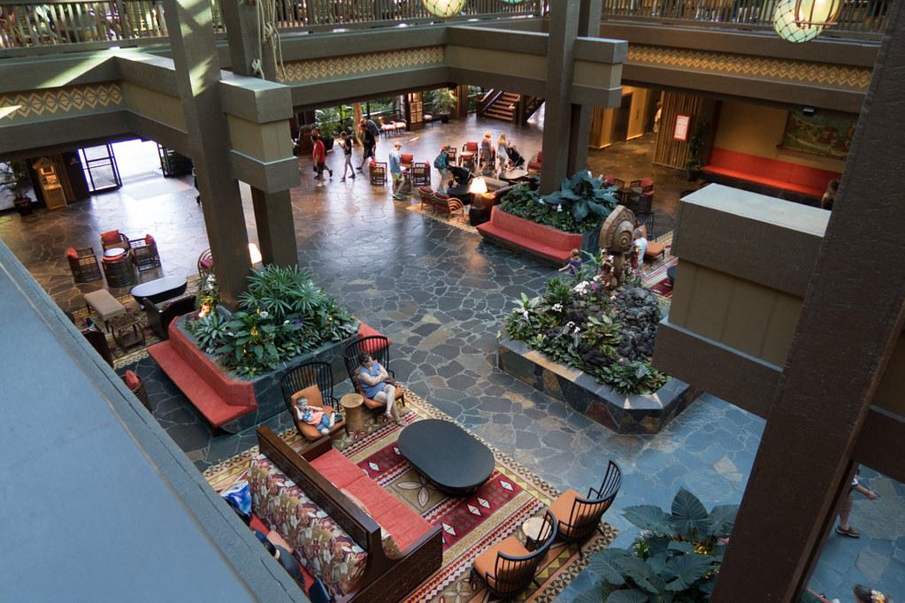 Disney Polynesian Lobby Area